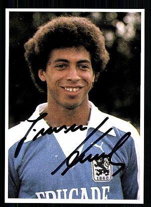 Jimmy Hartwig TSV 1860 München 70er Jahre Autogrammkarte Original Signiert gebraucht kaufen bei Hood.de
