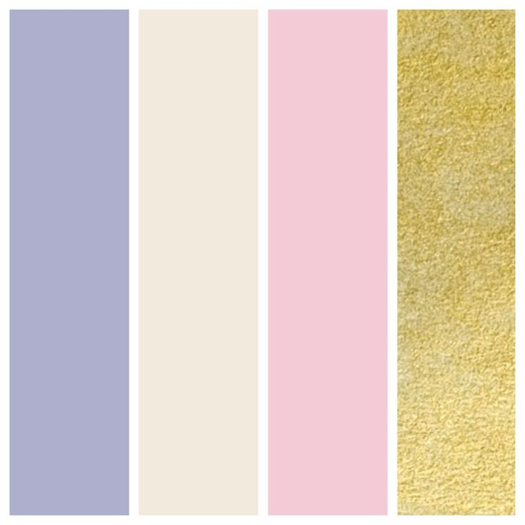 Wedding Color Palette Dusty Lilac Cream Tea Rose And