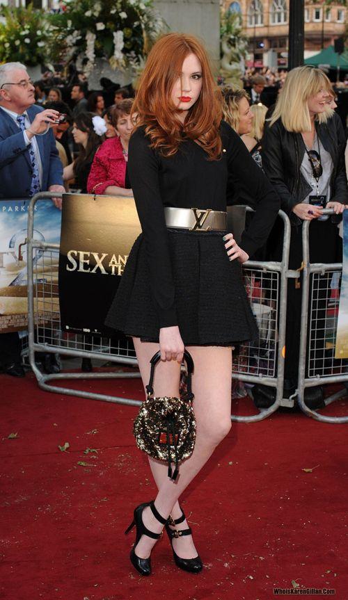 Karen Gillan #redhead #redheads