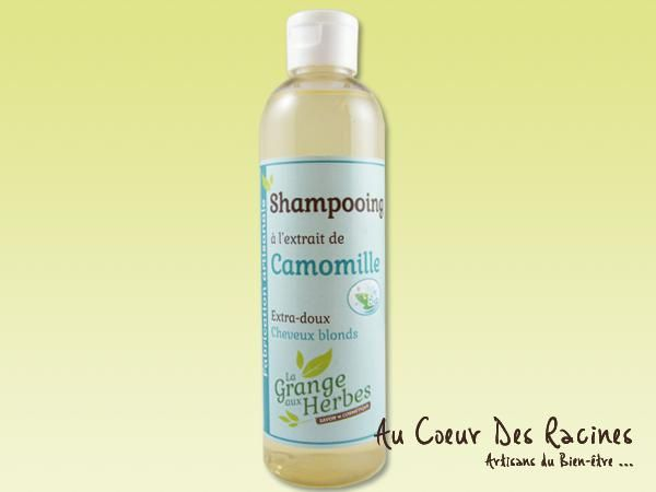 Shampooing Camomille