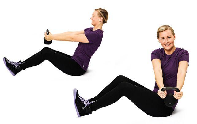 6 effektive maveøvelser - fit living
