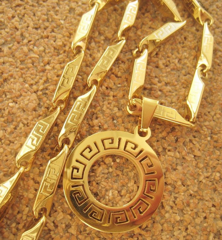 Poze Lant +medalion INOX  placat  ( otel inoxidabil ) cod mihasem623