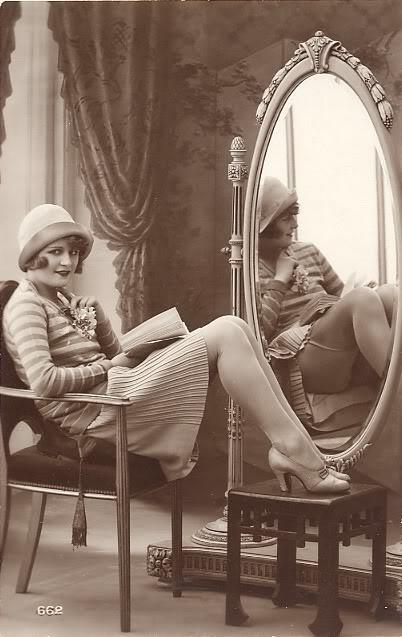 1920's flapper.