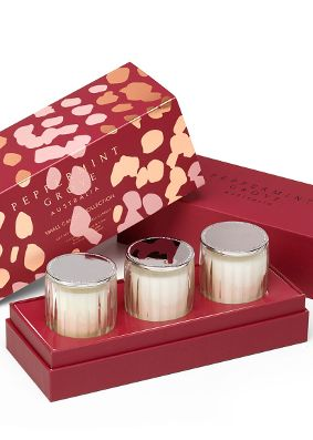Peppermint Grove Christmas Mini Candle Gift Set