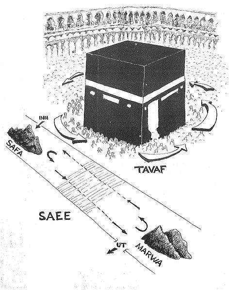 """The Kaaba or kabah (Arabic: الكعبة al-Kaʿbah IPA: [alˈkaʕba], """"The Cube""""), is…"""
