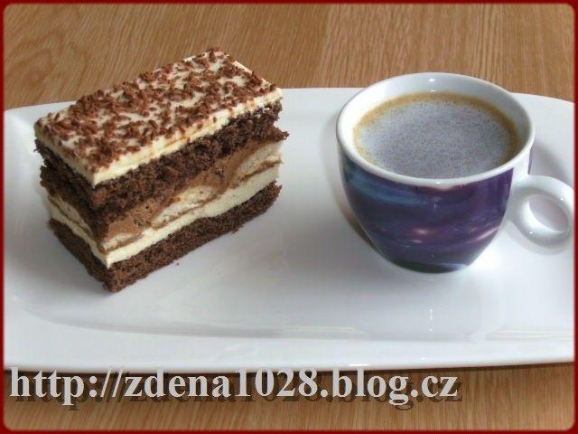 Čokoládové řezy | Zdenky vaření