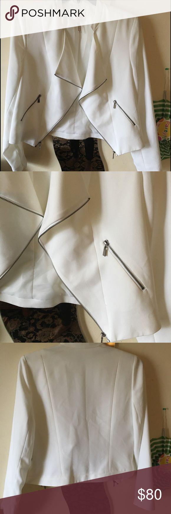 LAUNDRY BY SHELLI SEGAL 14 NEW WHITE JACKET  14 Laundry by Shelli Segal Jackets & Coats Blazers