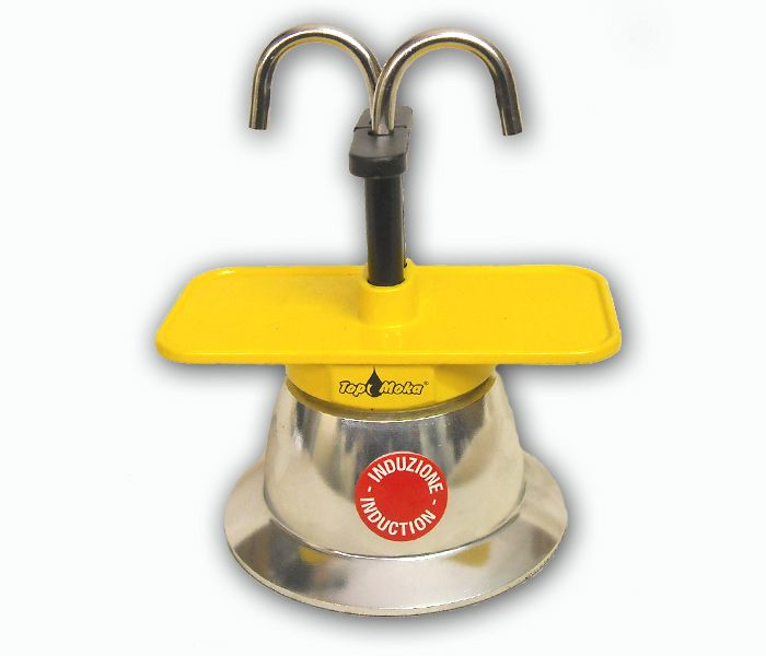 caffettiera induzione | Caffettiera espresso ad induzione (Mini02T-I Giallo) - Artigianato ...
