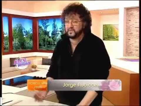 Jorge Rubicce - Bienvenidas TV - Decoupage sobre Porcelana con servilletas