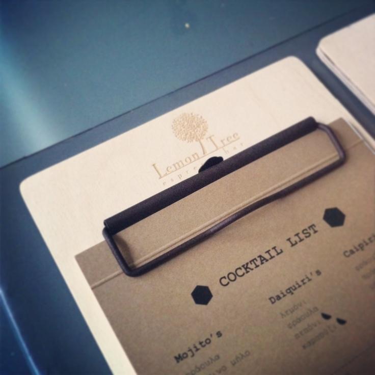 #menu #espresso #bar designed by #2vlo