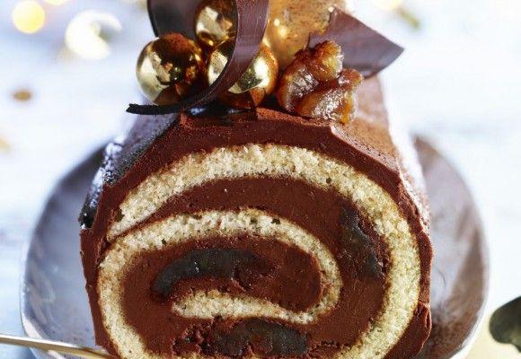 Ruladă cu cremă de ciocolată | Click! Pofta Buna!