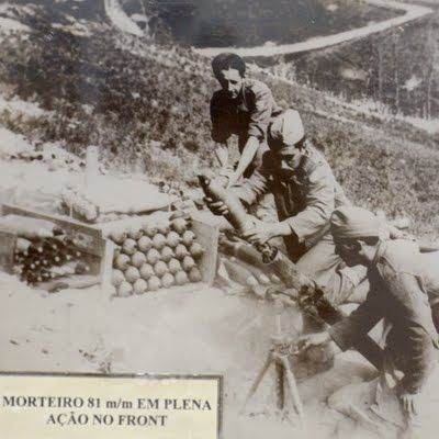 Brazilian soldiers on Italy