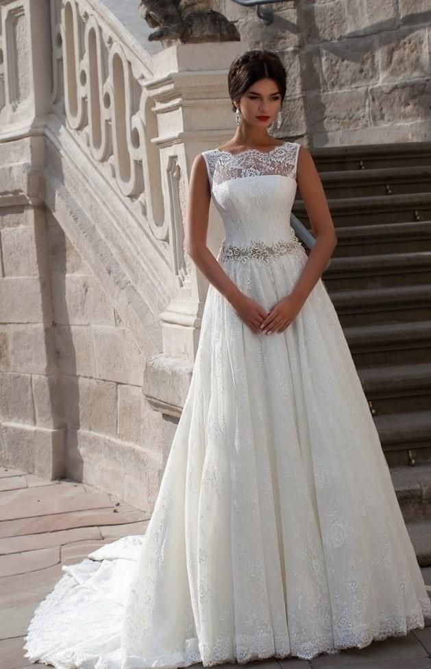 Пышные свадебные платья 2016…