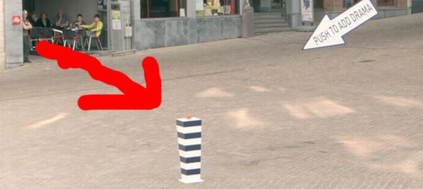 What Happens When You Put A Big Red Push Button In A Quiet Town Square? This..This Happens!