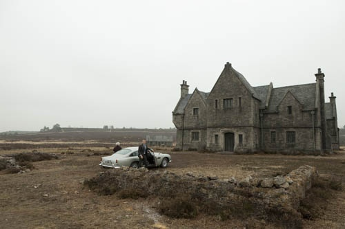 set for Skyfall, Hankley Common in Surrey, presstelegram ...