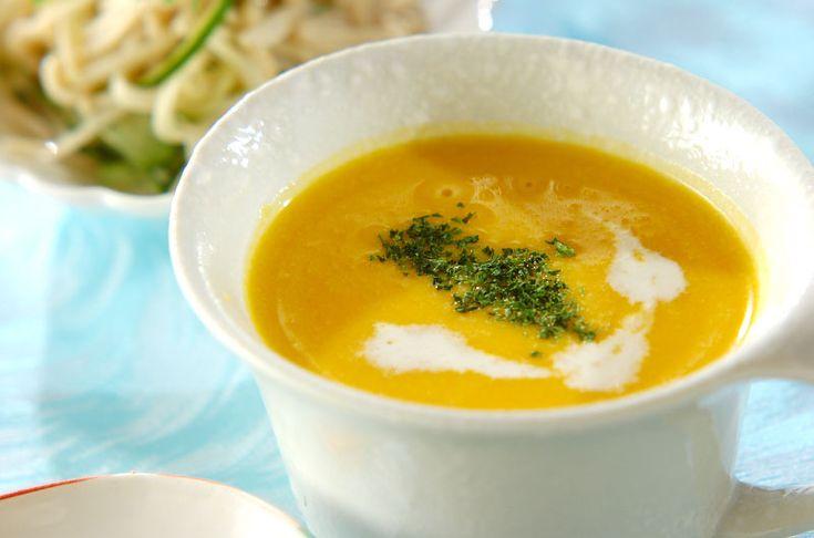 豆腐パンプキンスープ【E・レシピ】料理のプロが作る簡単レシピ/2014.07.14公開のレシピです。