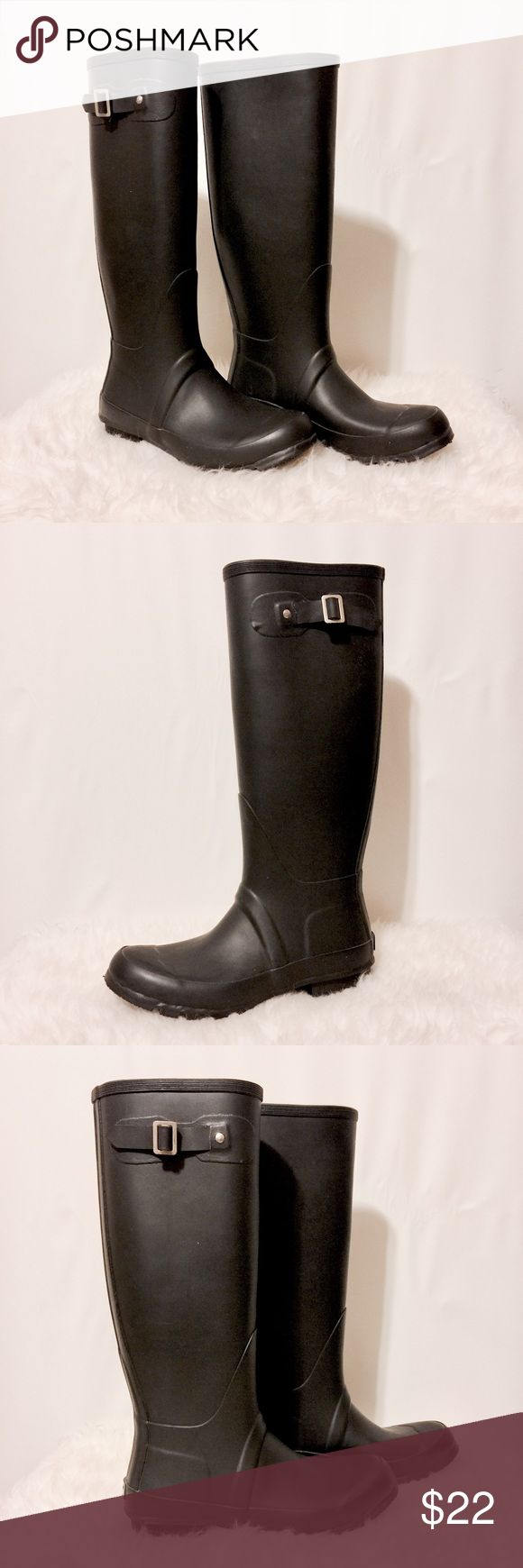 1000  ideas about Black Rain Boots on Pinterest | Hunter boots ...