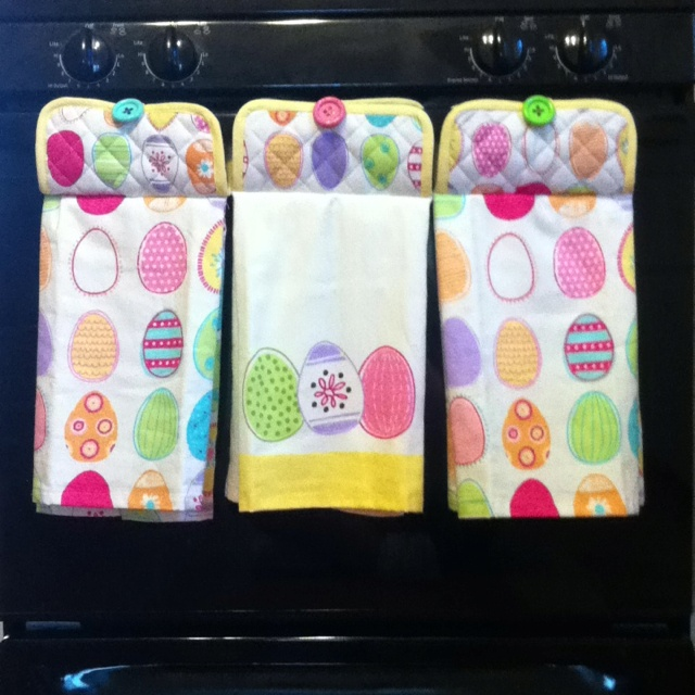 533 best images about easter projects on pinterest peeps easy to make kitchen towels for any holiday gift idea or for yourself using a negle Images
