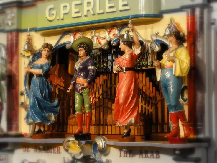 Detail of street organ 'The Arab', G. Perlee. Museum 'Speelklok tot Pierement', Utrecht.