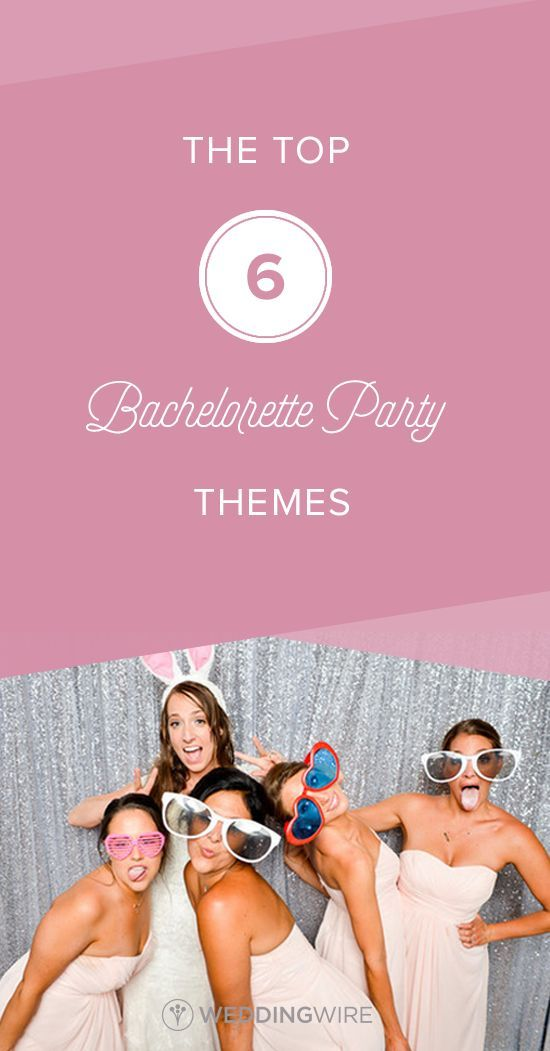The Top 6 Bachelorette Party Themes - From wine down to country-inspired, see the top bachelorette party themes on /weddingwire/!  {Brett Loves Elle Photography}