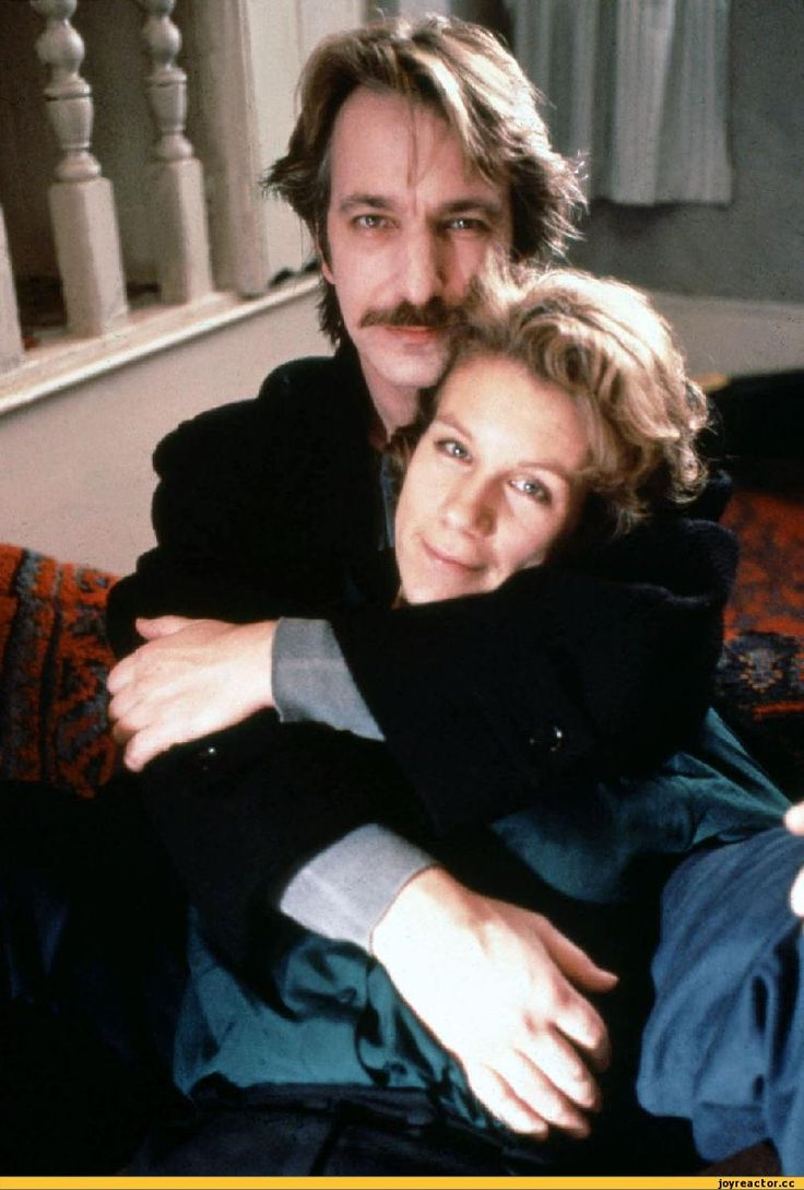 """1990 -- Alan Rickman and Juliet Stevenson in """"Truly, Madly, Deeply."""" This is a publicity shot ... I think."""