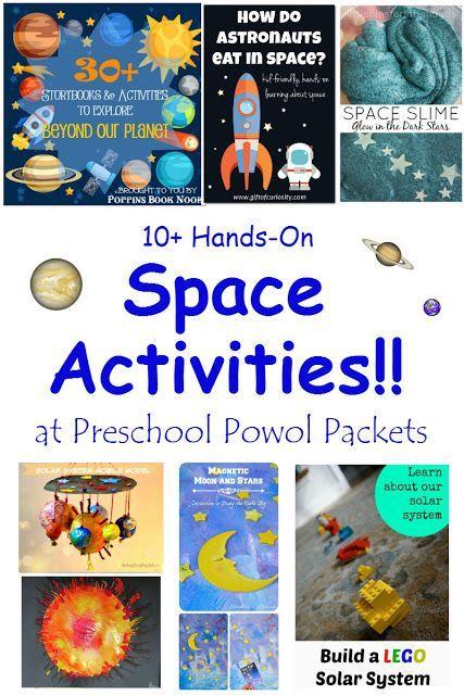 10+ Hands-on Space Activities!   Preschool Powol Packets