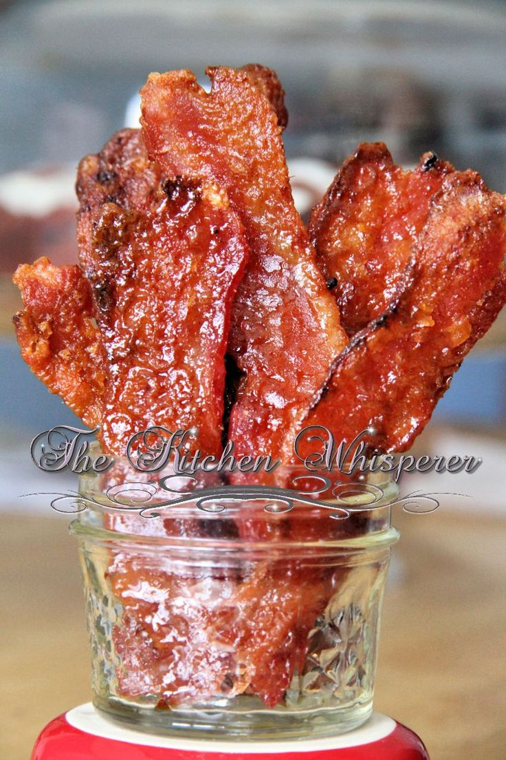 Smoked Chili Candied Bacon.  I have to put this on the camping board cuz that's the only way I can justify this hunk of decadence.