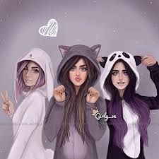 Image result for girly_m friends in school