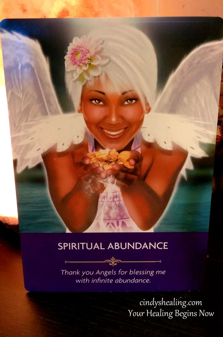 Greetings My Spiritual Brothers & Sisters.. Enjoy, & Celebrate Your Spiritual Abundance Today. God Blesses & Loves You, and so do I! xox cindyshealing.com Your Healing Begins Now. (Angel Prayers Oracle Cards By Kyle Gray)