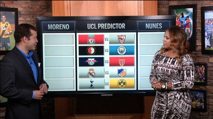 Champions League Wednesday predictor