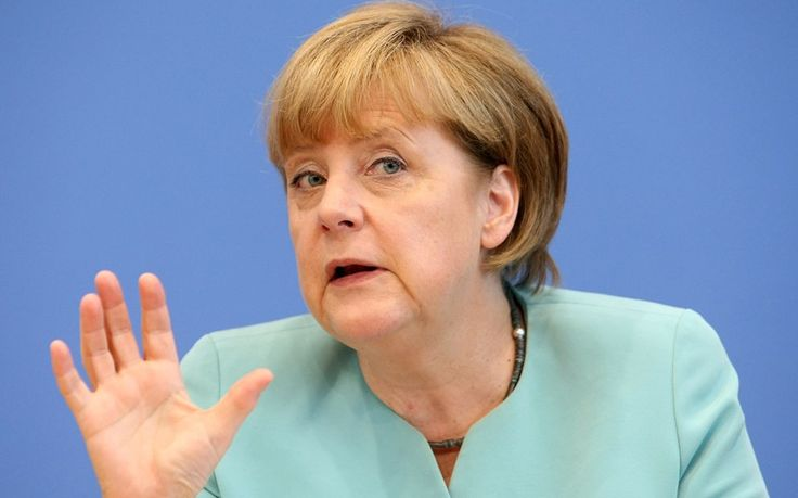 German chancellor facing pressure to change course on her open-door refugee   policy as leader of her Bavarian allies openly criticises her