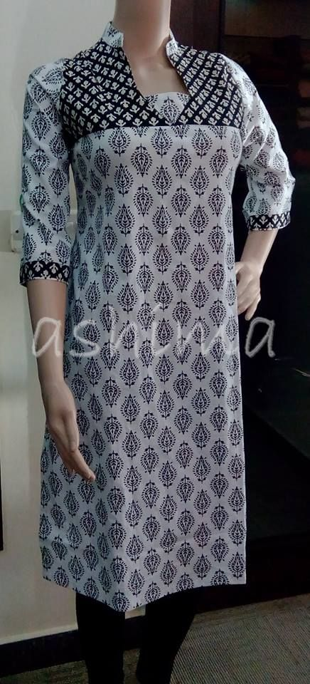 Code:1410150 Cotton Kurta Price Rs.590/- All sizes available. Free shipping to all courier destinations in India. Online payment through PayUMoney / PayPal