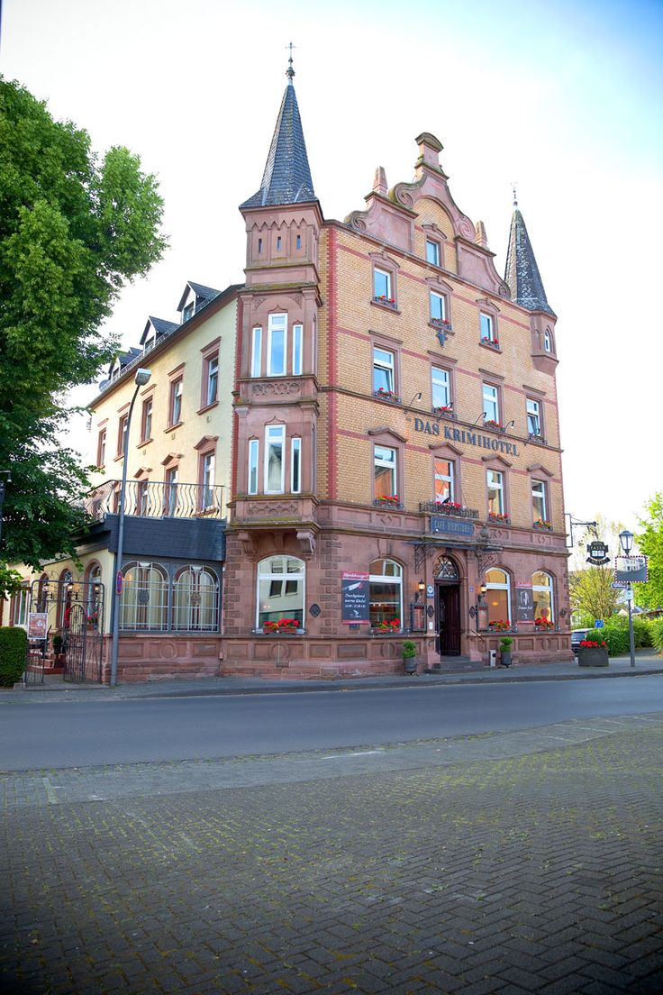Krimi- Hotel w Eifel. Atrakcja turystyczna. Edyta Guhl.http://dolcevitainmykitchen.blogspot.de