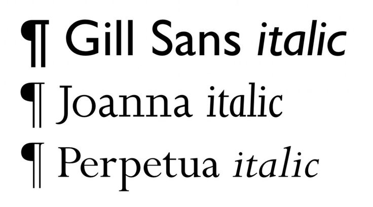 Gill Sans, Joanna and Perpetua. (Typefaces courtesy of Monotype Imaging. Gill Sans, Joanna and Perpetua are trademarks of The Monotype Corporation registered in the United States Patent and Trademark Office and may be registered in certain jurisdictions.)