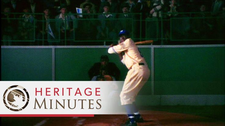 Heritage Minutes: Jackie Robinson