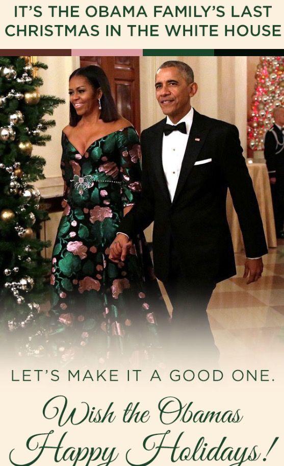HAPPY HOLIDAYS MERRY CHRISTMAS #44th #President #POTUS Of The United States Of America #CommanderInChief #BarackObama #FirstLady #FLOTUS Of The United States Of America #MichelleObama #FirstDaughters Of The United States #MaliaObama #SashaObama & Mother Marian Shields Robinson Bo & Sonny Obama #TheObamas #Obamas #Obama #LastChristmas #HappyHolidays #MerryChristmas #Christmas #Holidays #TheWhiteHouse #WhiteHouse #ObamaAdministration #ThankYou #Blessing #GodBlessYou