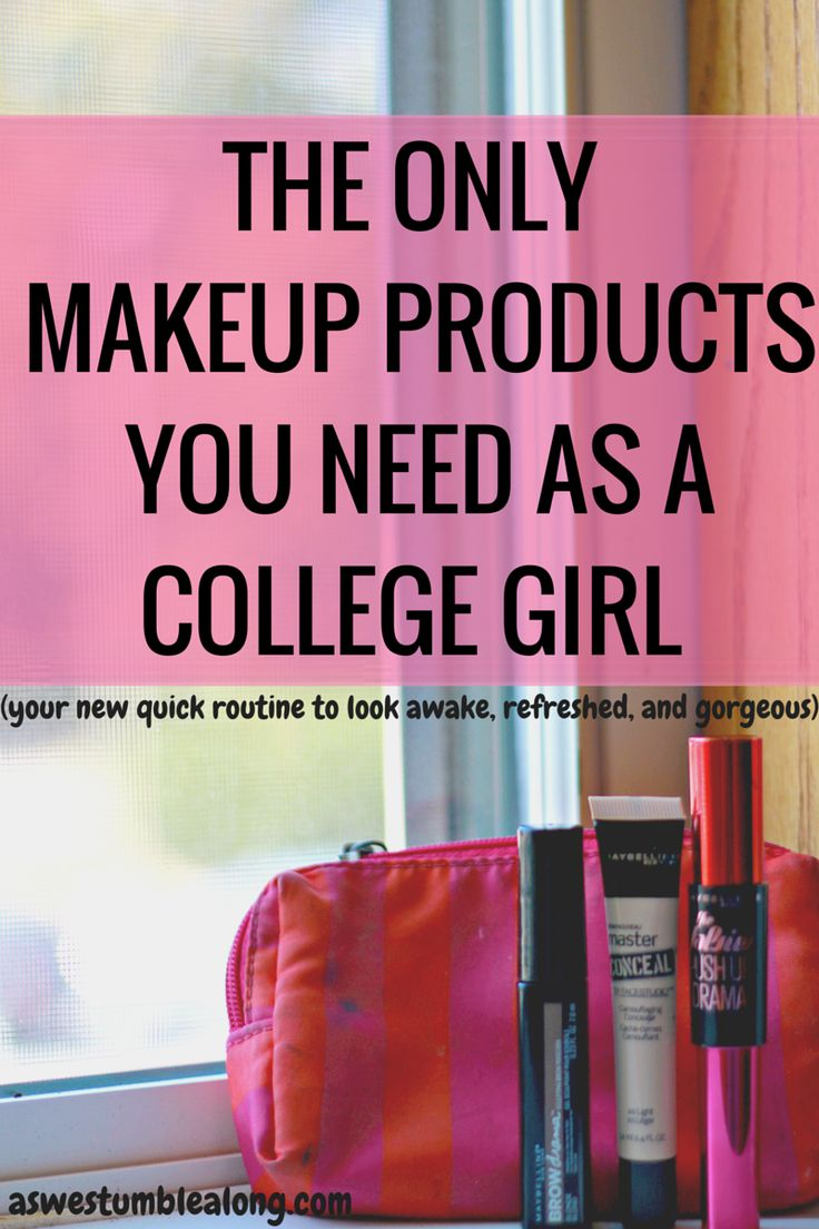 As a college girl, makeup can make or break your daily look. You want to look put together and refreshed (*cough* like you've gotten more than 6 hours of sleep in the last few days), without the full effort of a full face of makeup.  You don't have to worry! Here's a simple routine for every college girl with the only makeup products you need to look awake and GORGEOUS. Check it out here!  ad,Maybelline The Falsies Push Up Drama Mascara, college makeup routine, makeup routine for college