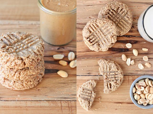 Peanut butter breakfast cookiesAlmond Milk, Gluten Free Breakfast, Breakfast Healthy, Gluten Free Vegan, Breakfast Cookies, Decor Cookies, Peanut Butter Cookies, Pb Cookies, Peanut Butter Breakfast