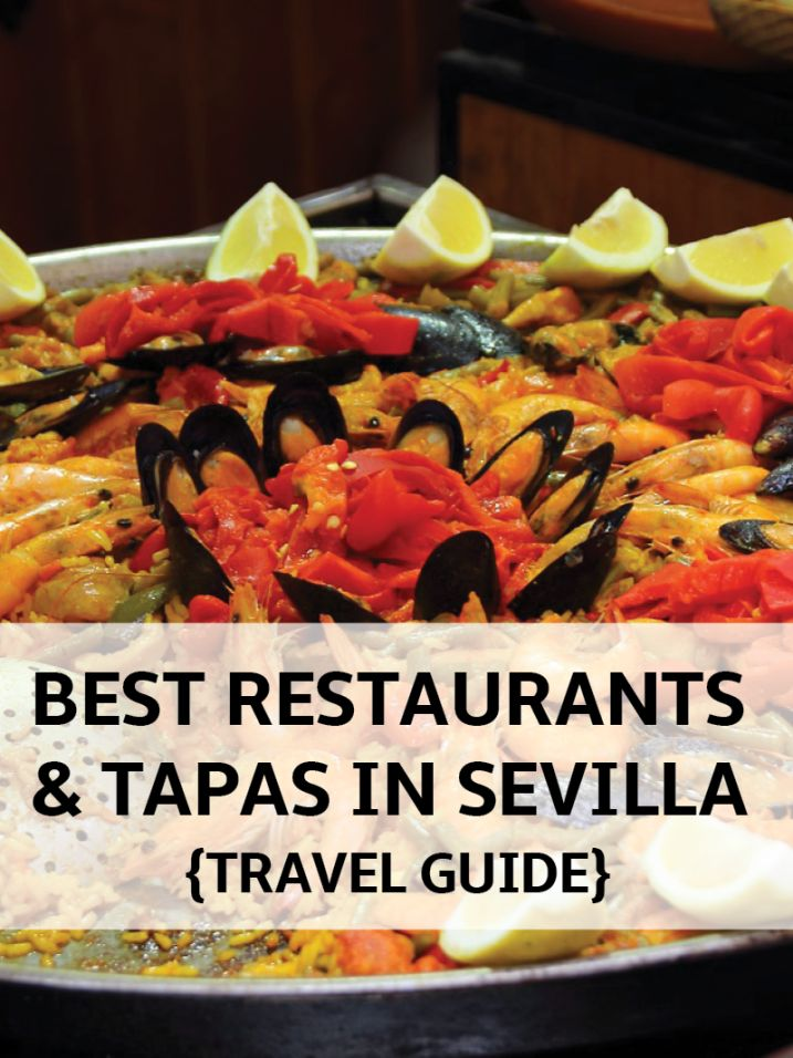 Best Tapas & Restaurants in Seville Spain