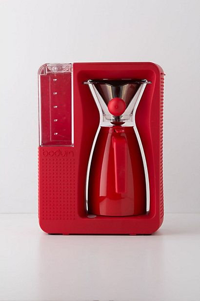 Bistro Brew Coffee Maker #anthropologie   comes also in Black, White, others