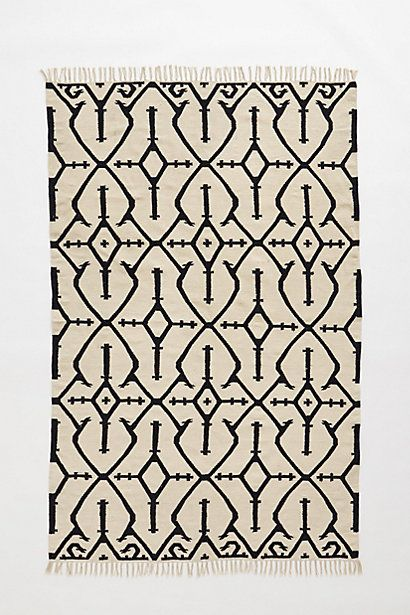 Cross-Hatch Rug #anthropologie
