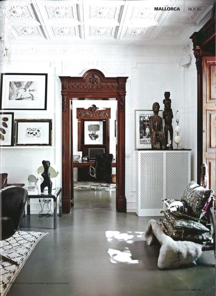 Malene Birgers home in Mallorca Modern InteriorsWhite