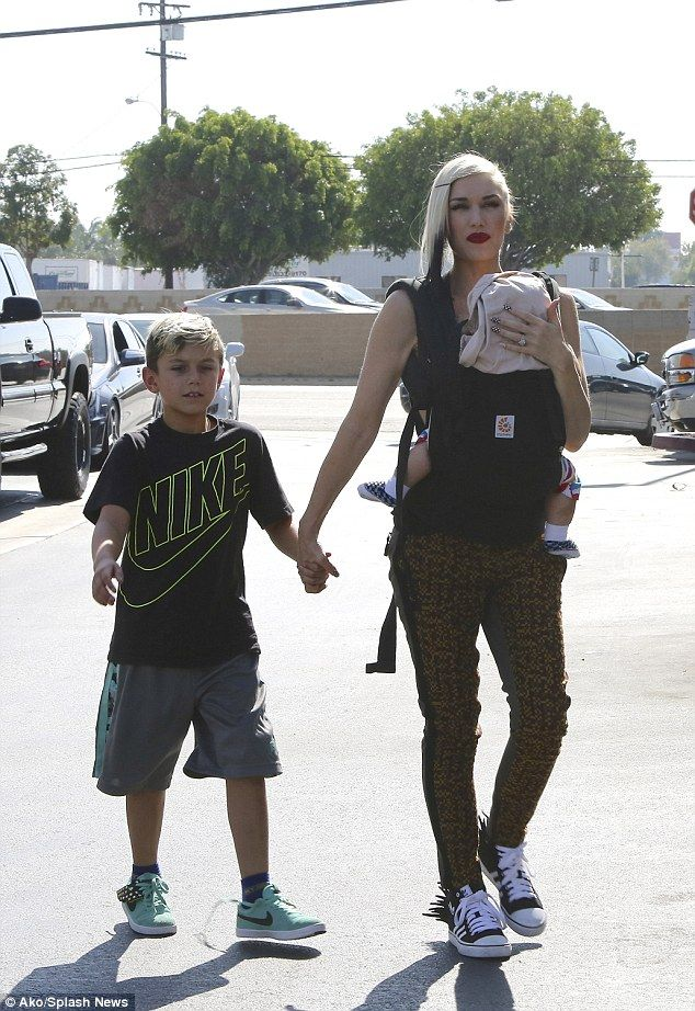 Next stop: Later in the day, the 45-year-old took her kids to buy Halloween costumes in Co...