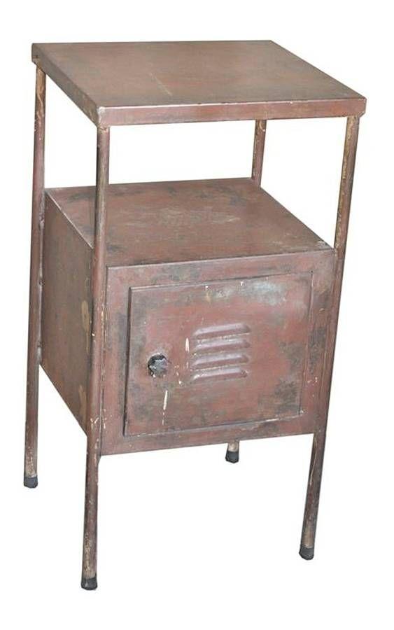industrial metal cabinet by vida vida   notonthehighstreet.com