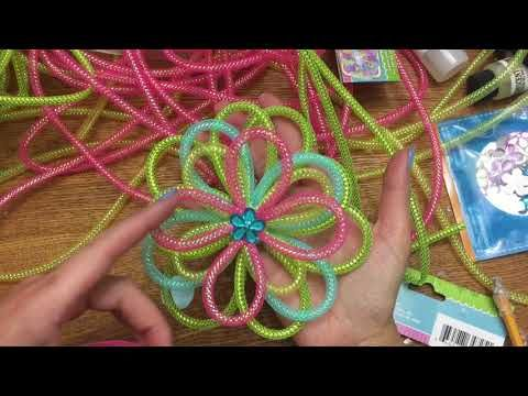 63 Best Mesh Tubing Cord Crafts Images On Pinterest Christmas Crafts Deco Mesh Wreaths And