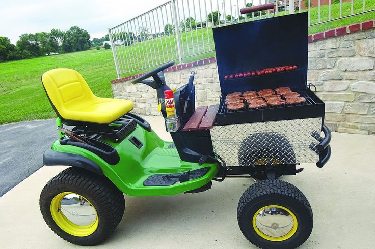 Garden Tractor Grilles : Best images about amazing farm inventions on pinterest