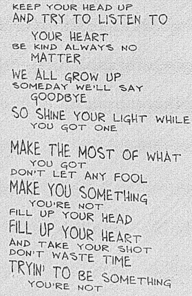 Dave Matthews Band - Drunken Soldier Lyrics. I love it!