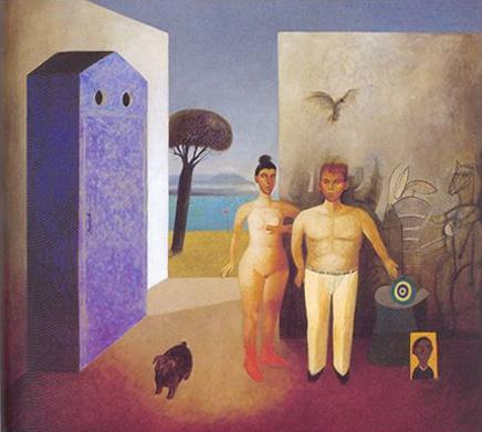 """""""Vestidor Azul"""" Gonzalo Cienfuegos"""