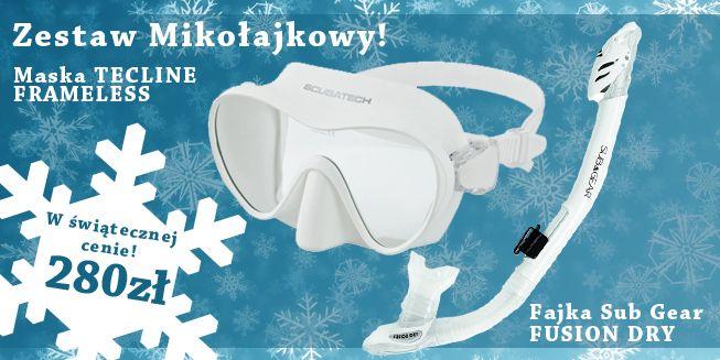 Wyjątkowy zestaw na zimę!!  http://www.sklep-nurkowy.pl/