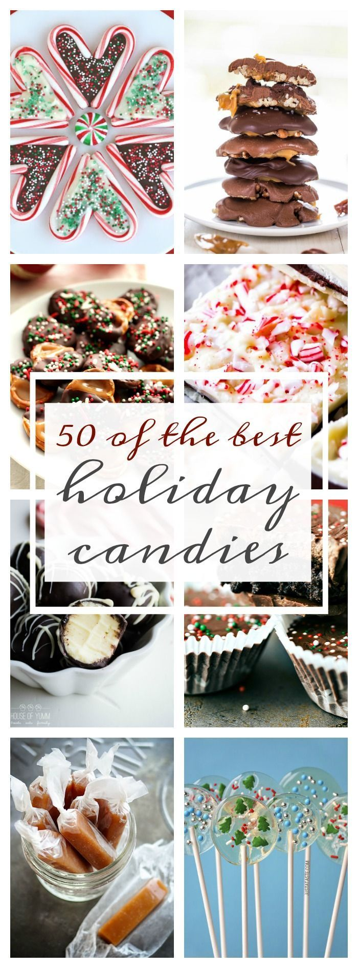 50 of the Best Holiday Candies - A Dash of Sanity